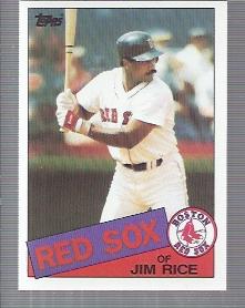 1985 Topps #150 Jim Rice