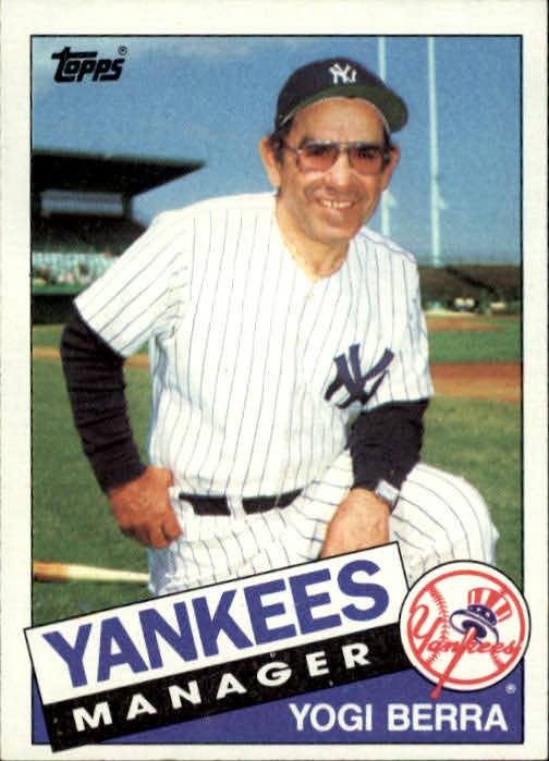 1985 Topps #155 Yogi Berra MG