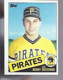 1985 Topps #162 Benny Distefano