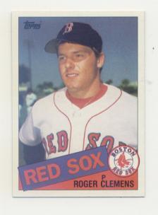 1985 Topps #181 Roger Clemens RC