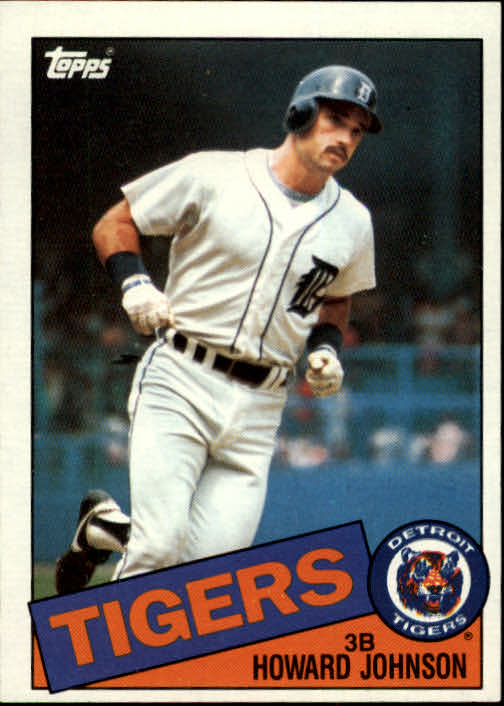 1985 Topps #192 Howard Johnson