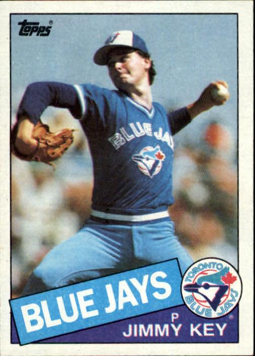 1985 Topps #193 Jimmy Key RC