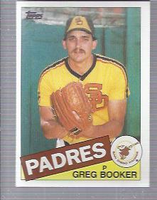 1985 Topps #262 Greg Booker