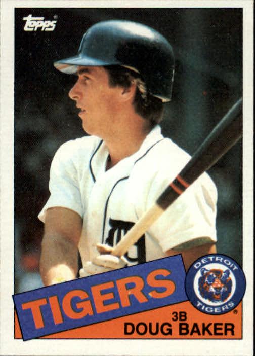 1985 Topps #269 Doug Baker