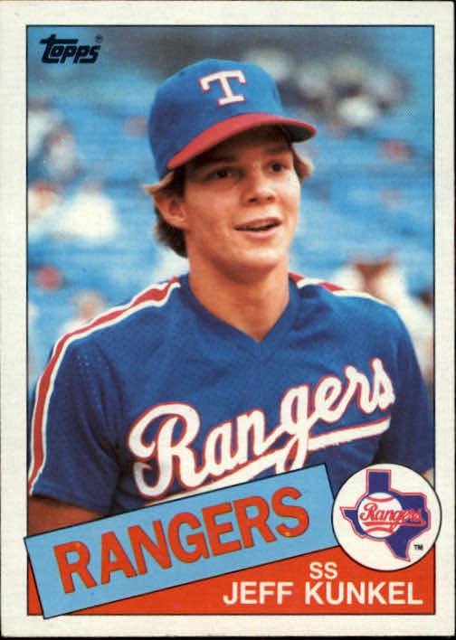 1985 Topps #288 Jeff Kunkel