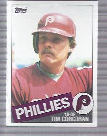 1985 Topps #302 Tim Corcoran