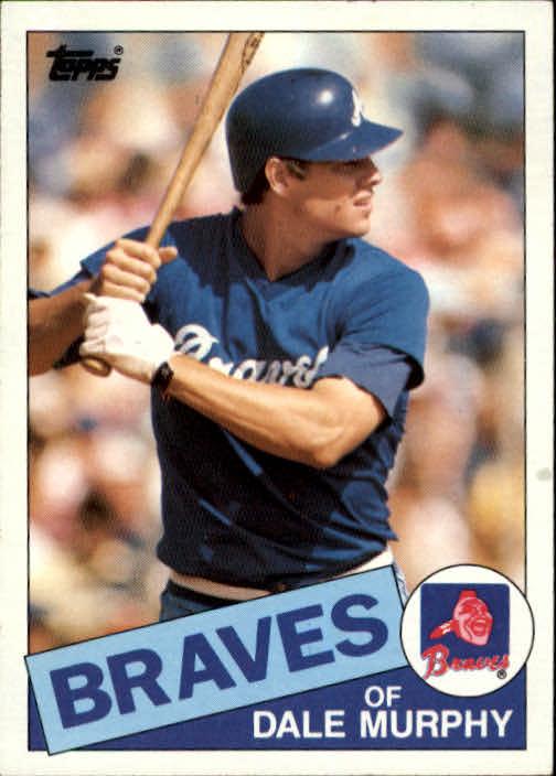 1985 Topps #320 Dale Murphy