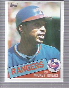 1985 Topps #371 Mickey Rivers