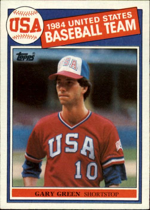 1985 Topps #396 Gary Green OLY RC