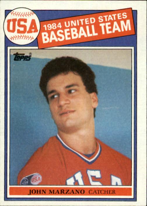 1985 Topps #399 John Marzano OLY RC