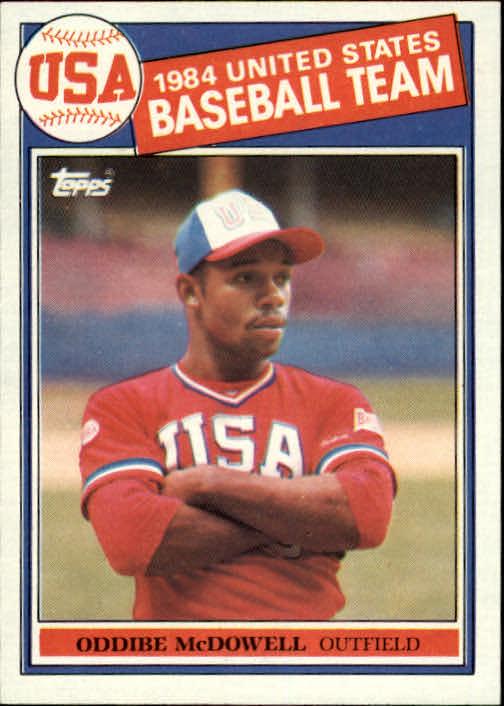 1985 Topps #400 Oddibe McDowell OLY RC