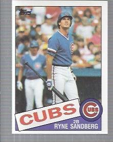 1985 Topps #460 Ryne Sandberg