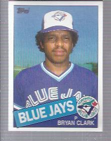 1985 Topps #489 Bryan Clark