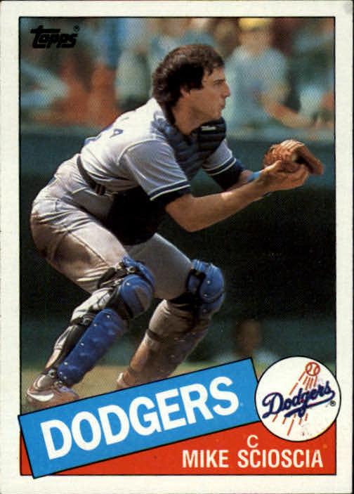 1985 Topps #549 Mike Scioscia