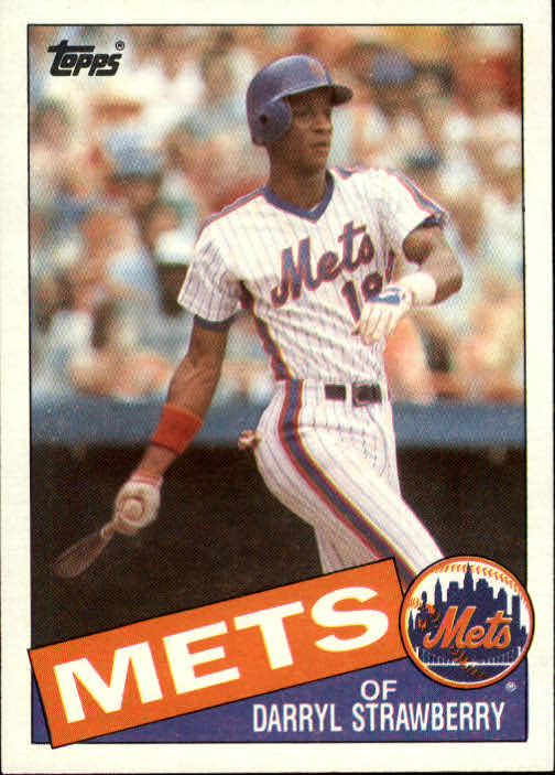Details About 1985 Topps New York Mets Baseball Card 570 Darryl Strawberry