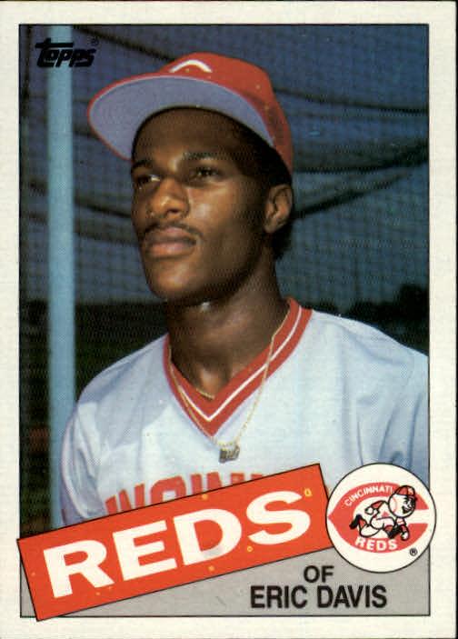 1985 Topps #627 Eric Davis RC