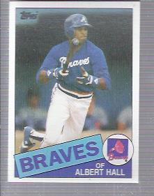 1985 Topps #676 Albert Hall