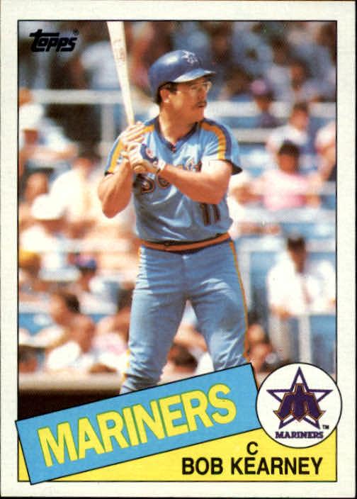 1985 Topps #679 Bob Kearney