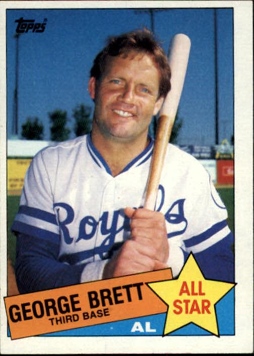1985 Topps #703 George Brett AS