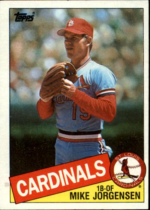 1985 Topps #783 Mike Jorgensen