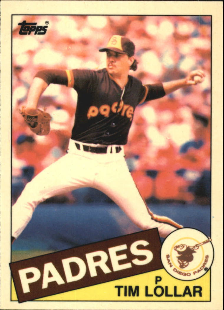 1985 Topps Tiffany #13 Tim Lollar