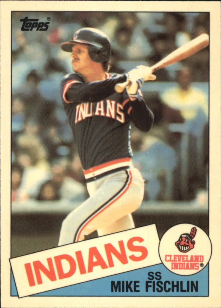 1985 Topps Tiffany #41 Mike Fischlin