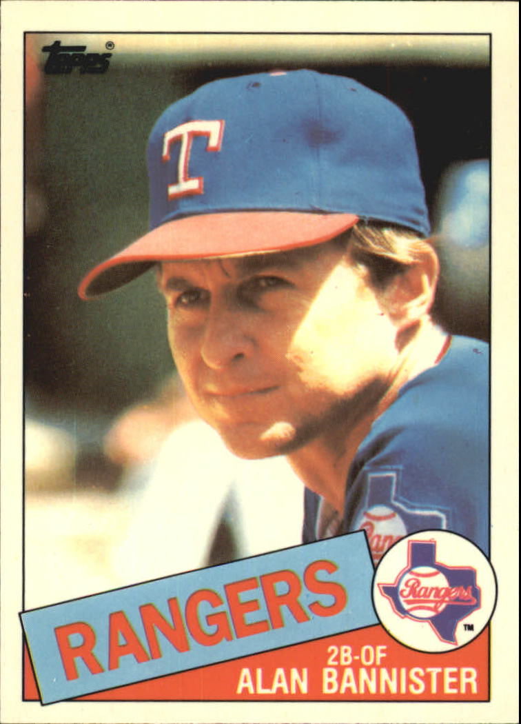 1985 Topps Tiffany #76 Alan Bannister