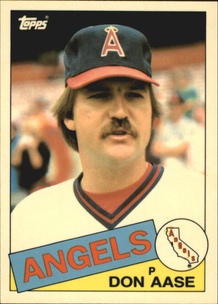 1985 Topps Tiffany #86 Don Aase