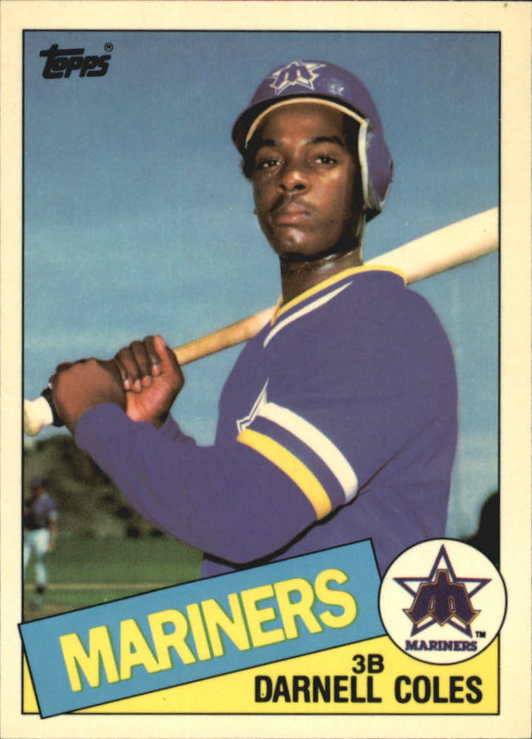 1985 Topps Tiffany #108 Darnell Coles