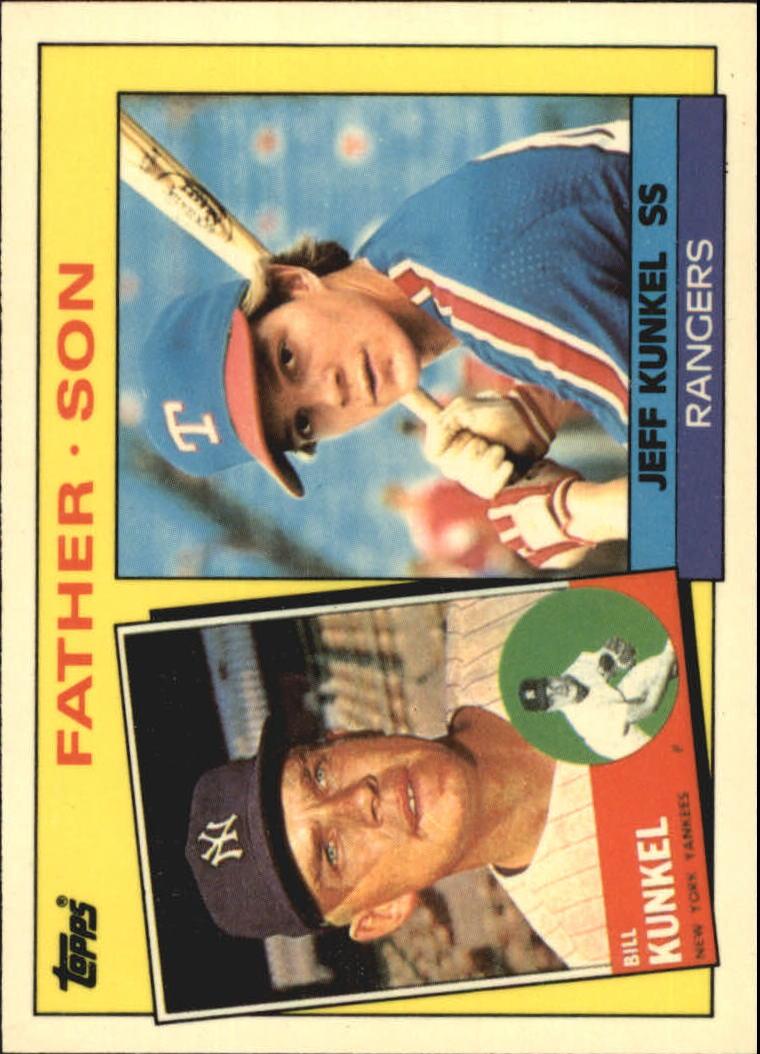 1985 Topps Tiffany #136 Jeff/Bill Kunkel FS