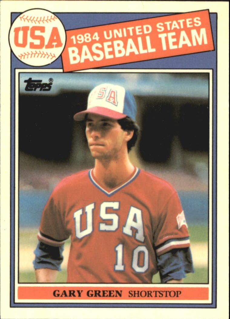 1985 Topps Tiffany #396 Gary Green OLY