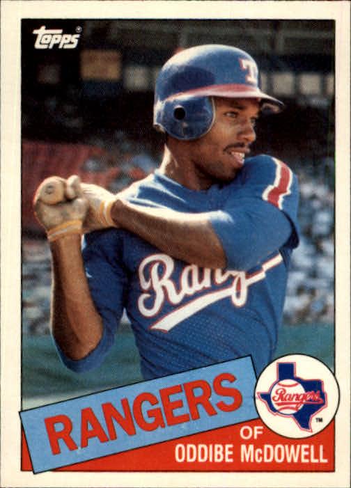 1985 Topps Traded #82T Oddibe McDowell