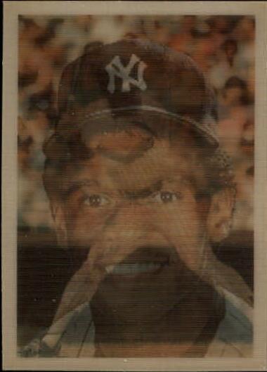 1986 Sportflics #6 Rickey Henderson