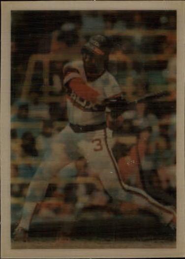 1986 Sportflics #7 Harold Baines