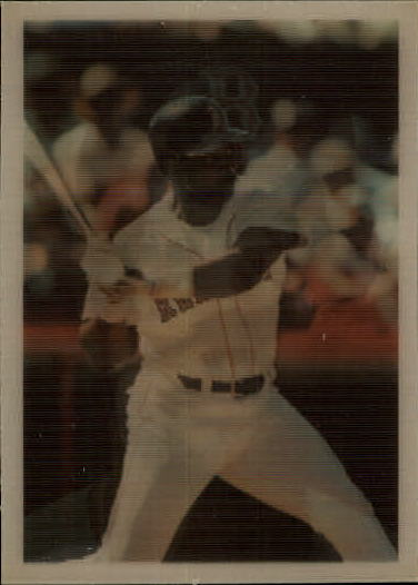 1986 Sportflics #17 Jim Rice