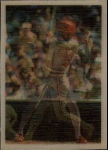 1986 Sportflics #19 Willie McGee