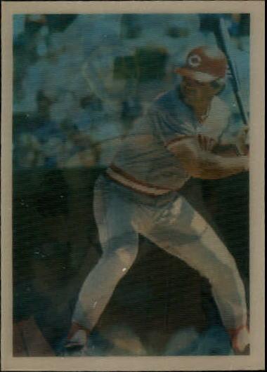 1986 Sportflics #130 WS MVP's Pete Rose