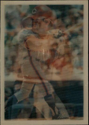 1986 Sportflics #138 Veteran Hitters Pete Rose