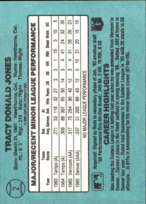 1986-Donruss-Rookies-Baseball-1-56-Your-Choice-GOTBASEBALLCARDS thumbnail 3
