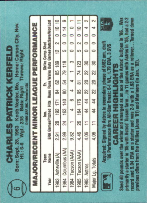 1986-Donruss-Rookies-Baseball-1-56-Your-Choice-GOTBASEBALLCARDS thumbnail 11