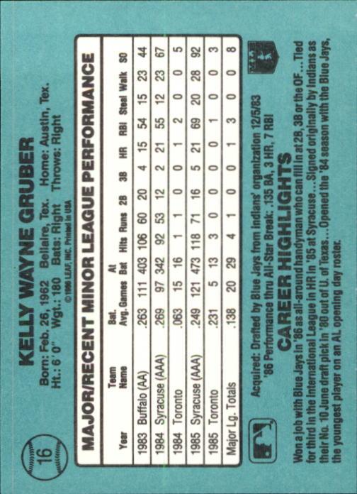 1986-Donruss-Rookies-Baseball-1-56-Your-Choice-GOTBASEBALLCARDS thumbnail 26