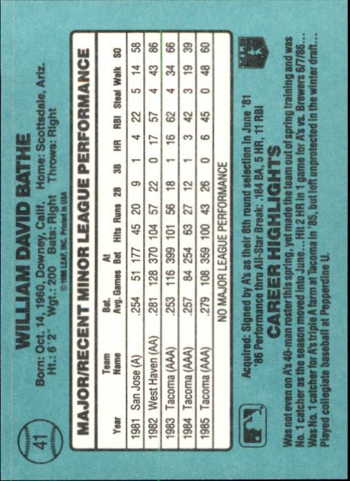 1986-Donruss-Rookies-Baseball-1-56-Your-Choice-GOTBASEBALLCARDS thumbnail 70
