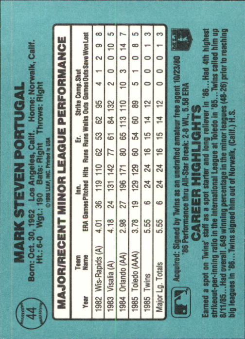 1986-Donruss-Rookies-Baseball-1-56-Your-Choice-GOTBASEBALLCARDS thumbnail 76