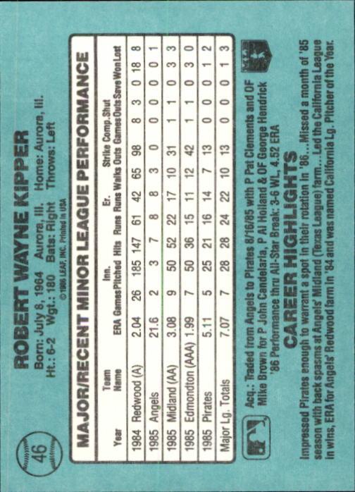 1986-Donruss-Rookies-Baseball-1-56-Your-Choice-GOTBASEBALLCARDS thumbnail 80