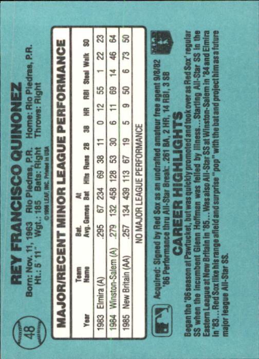 1986-Donruss-Rookies-Baseball-1-56-Your-Choice-GOTBASEBALLCARDS thumbnail 84