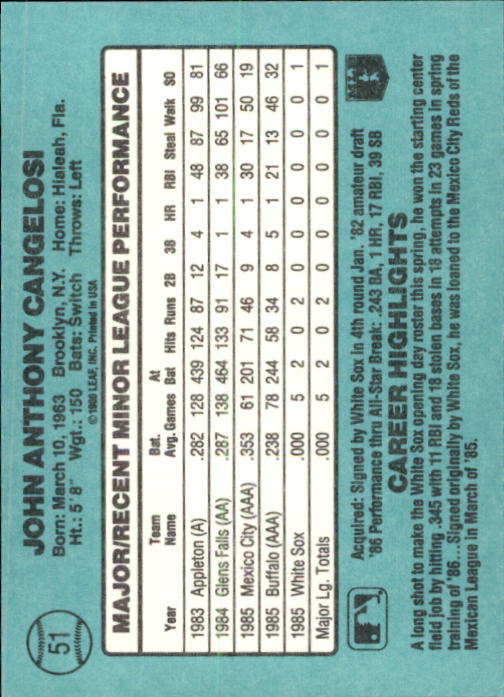 1986-Donruss-Rookies-Baseball-1-56-Your-Choice-GOTBASEBALLCARDS thumbnail 90