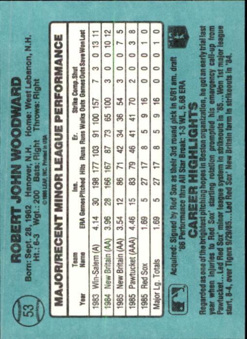 1986-Donruss-Rookies-Baseball-1-56-Your-Choice-GOTBASEBALLCARDS thumbnail 92