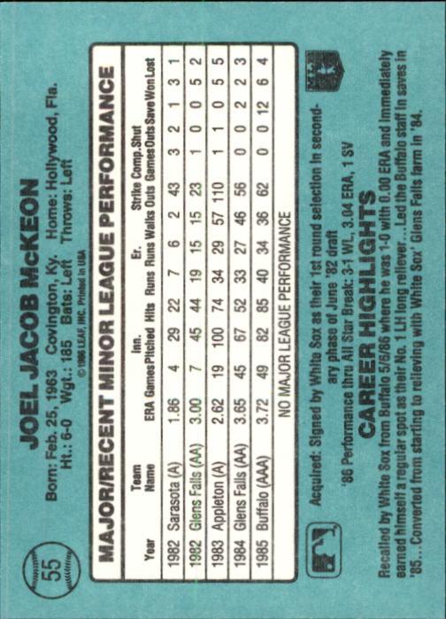 1986-Donruss-Rookies-Baseball-1-56-Your-Choice-GOTBASEBALLCARDS thumbnail 96