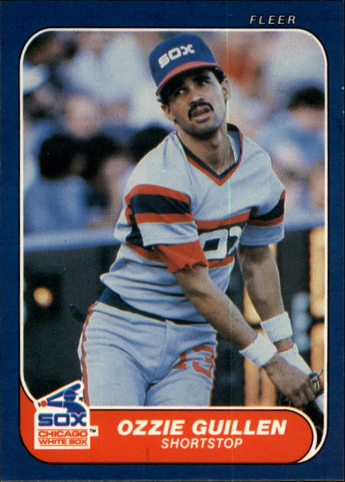 1986 Fleer #206 Ozzie Guillen RC