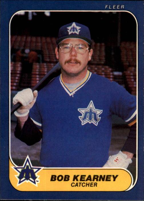 1986 Fleer #466 Bob Kearney